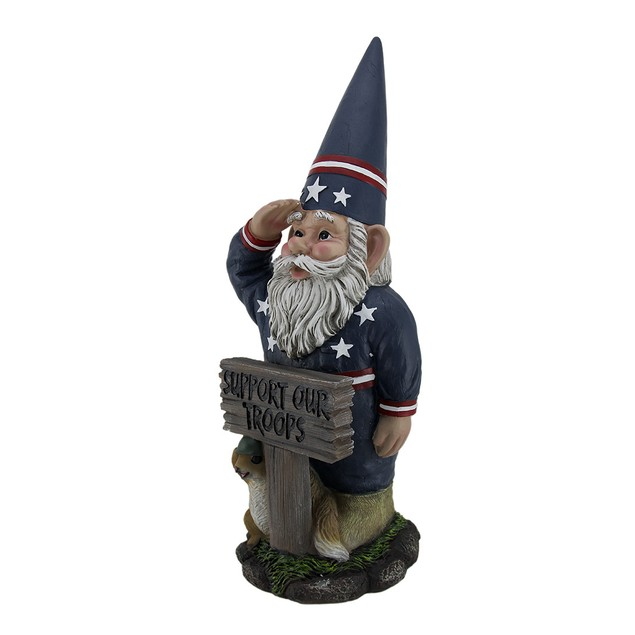 Mr. Americana Give A Salute Support Our Troops Gi Outdoor Statues