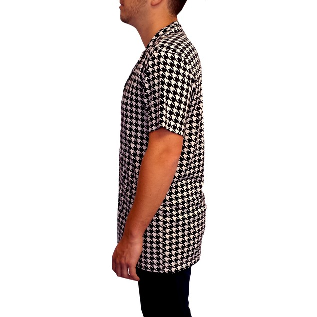 Ricky's Houndstooth Shirt Button Down Ricky Richard Rick TV Show Costume