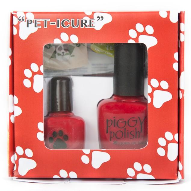 Piggy Polish Pet-icure Nail Polish for Pets-Red Creme