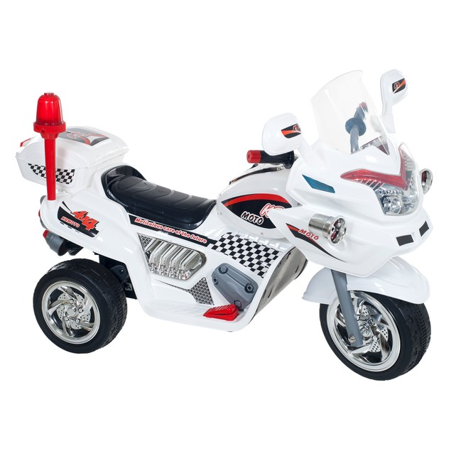 Lil' Rider Ride-on Police Connection Bike Trike - Supersize White