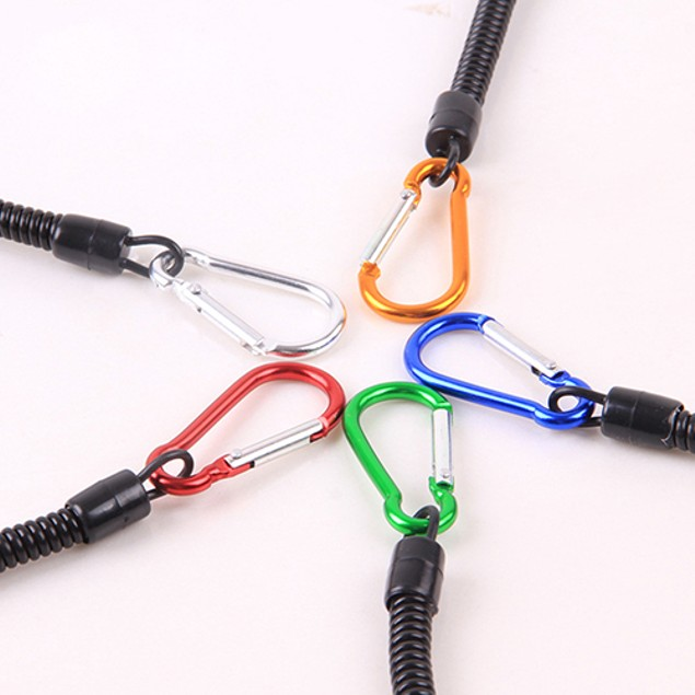 2 Piece Fishing Lanyards Boating Secure Pliers Lip Grips