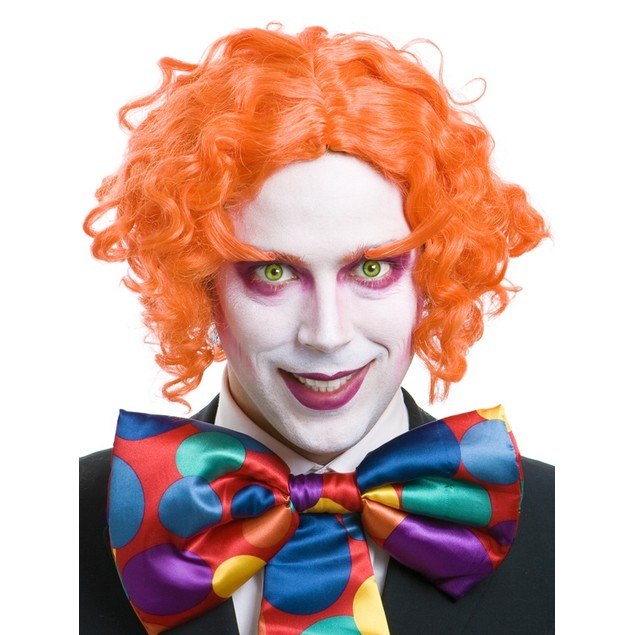 Orange Mad Scientist Wig