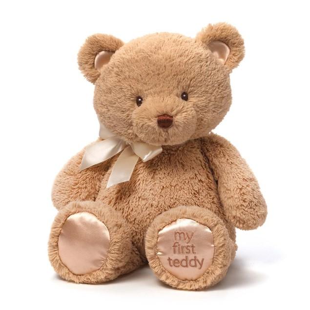 """Baby GUND My First Teddy Bear Stuffed Animal Plush,15"""""""
