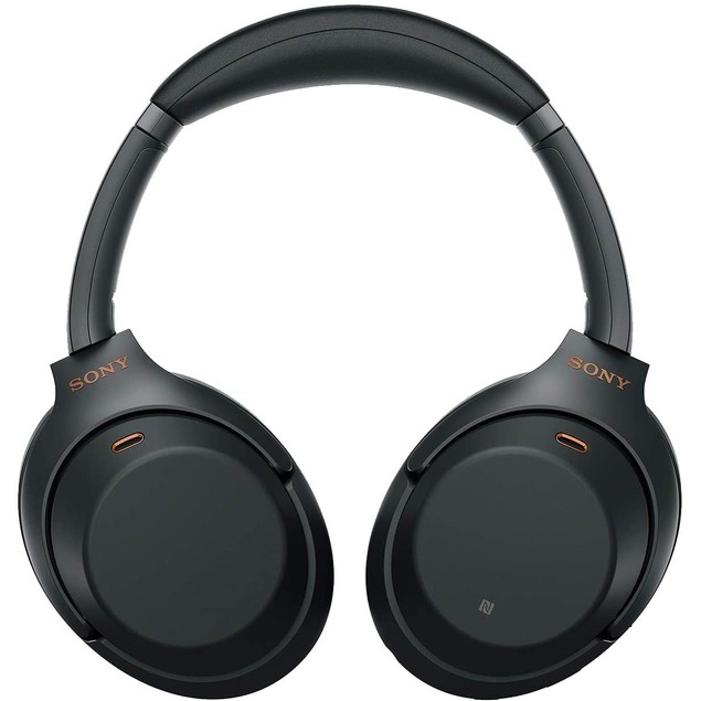 SONY WH-1000XM3 Wireless Noise canceling Stereo Headset (Black)