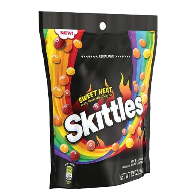 Skittles Sweet Heat Fruity Flavors with a Spicy Kick