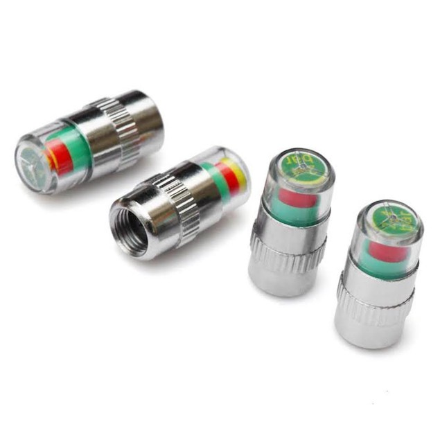 Tire Pressure Valve Caps (4-Pack)