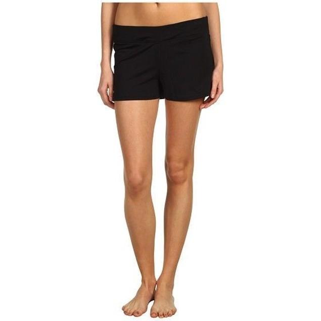 NWT Speedo Women's Swim Short Black Board Shorts (723219 001) SZ 12