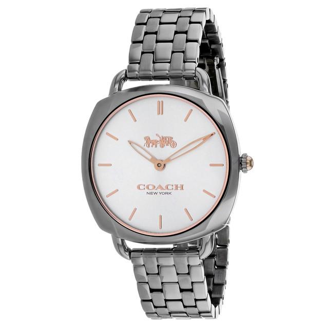 Coach Women's Tatum Slim Silver tone Dial Watch - 14503012