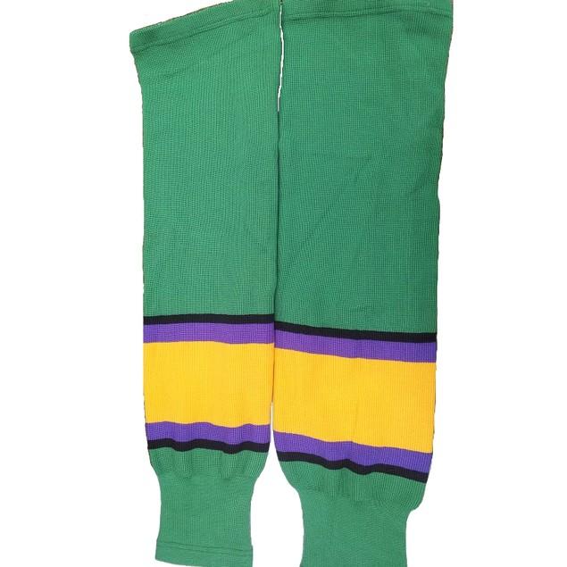 Green Ducks Ice Hockey Socks (Pair)