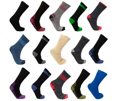 12-Pair Mystery Deal: Men's Mega Thermo Thermal Insulated Socks Was: $59.99 Now: $21.99.