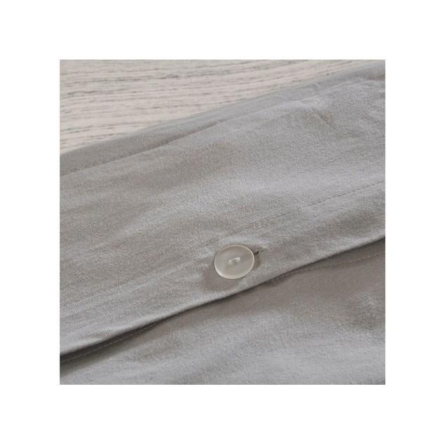 Urban Habitat 3 Piece Space Dyed Melange Jersey Knit Duvet Cover Set, King,
