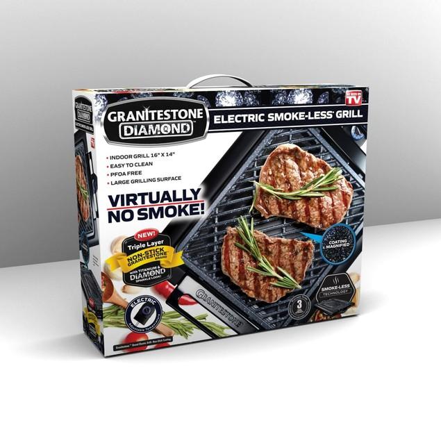 GraniteStone Non-Stick Smokeless Indoor Electric Grill