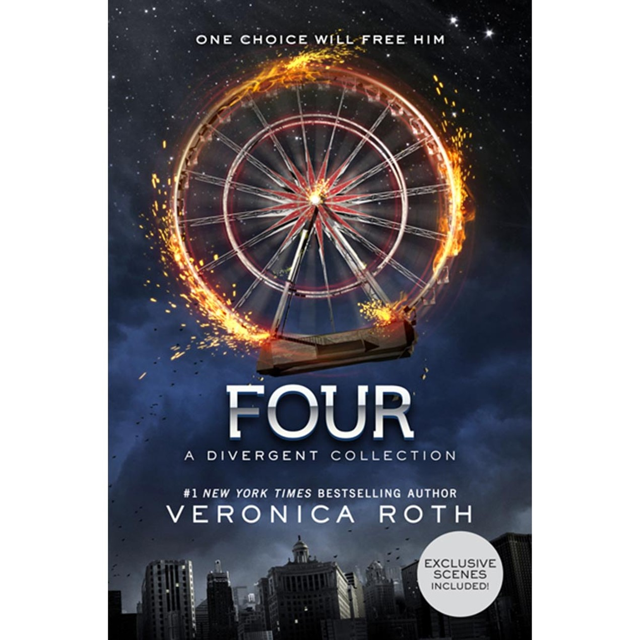 Four a Divergent Collection Book, Sci-Fi Movies by Katherine