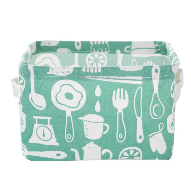 Foldable 6 Colors Storage Box Container Organizer Fabric Basket