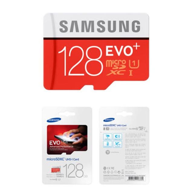 Samsung - EVO Plus 16GB/32GB/64GB/128GB microSDXC UHS-I Memory Card