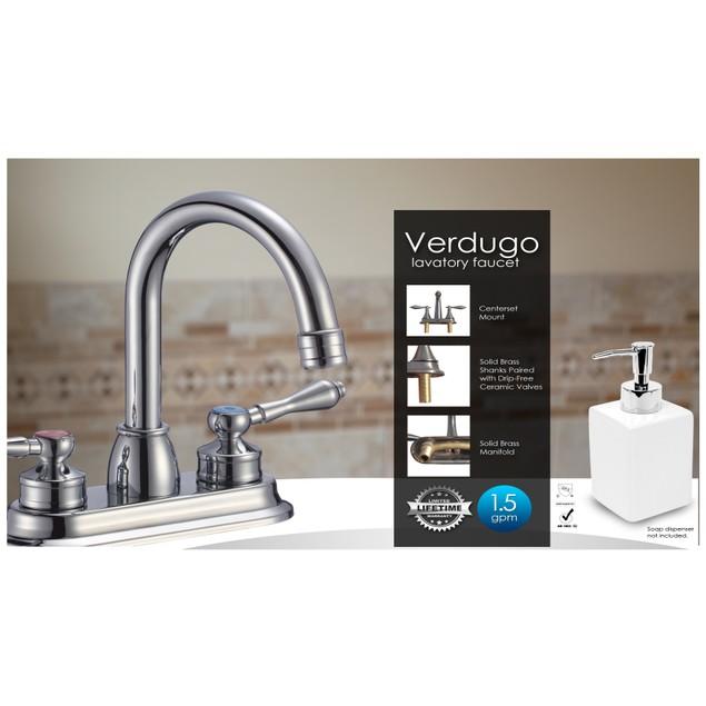 LUXEflo Verdugo Centerset Bathroom Faucet