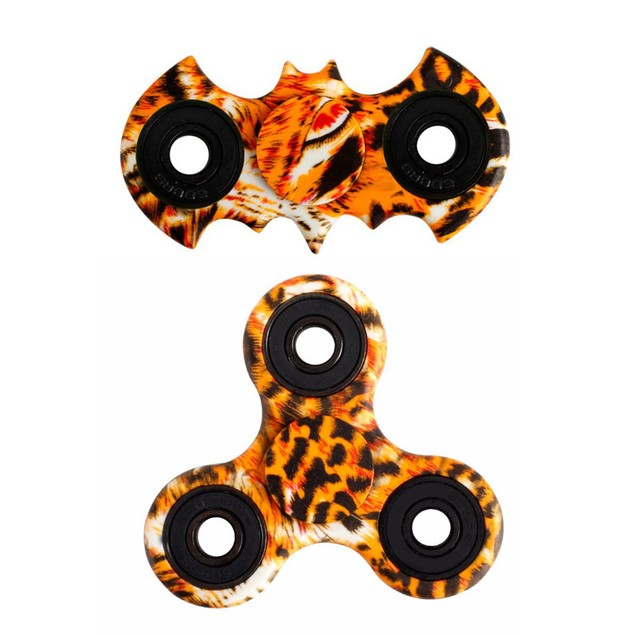2PC anti-stress toy Fidget Hand Spinner Toy Stress Reducer EDC Focus Toy