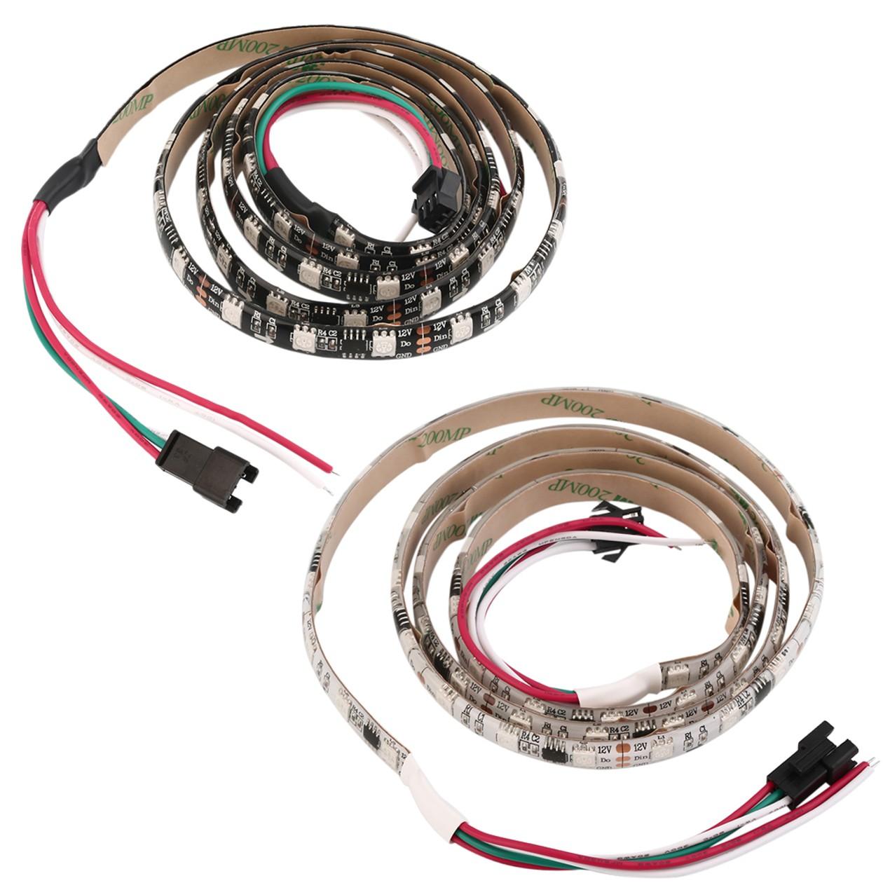 WS2811 RGB LED strip Light Individually Addressable 12V