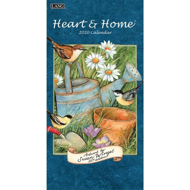 Heart & Home Vertical Wall Calendar, Vertical Wall Calendars by Calendars