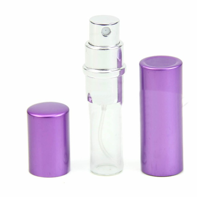 Travel Portable Refillable Perfume Atomizer Bottle Scent Pump Sprayer 5ml