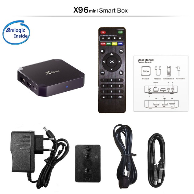 X96 Mini IPTV Box Support Channels 4K H.265 1080P Android TV Box