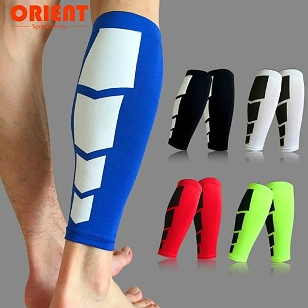 Pair Of Men's Calf Compression Sleeves