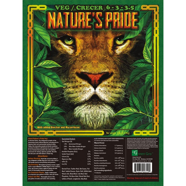 Nature's Pride Veg Fertilizer, 5 lbs