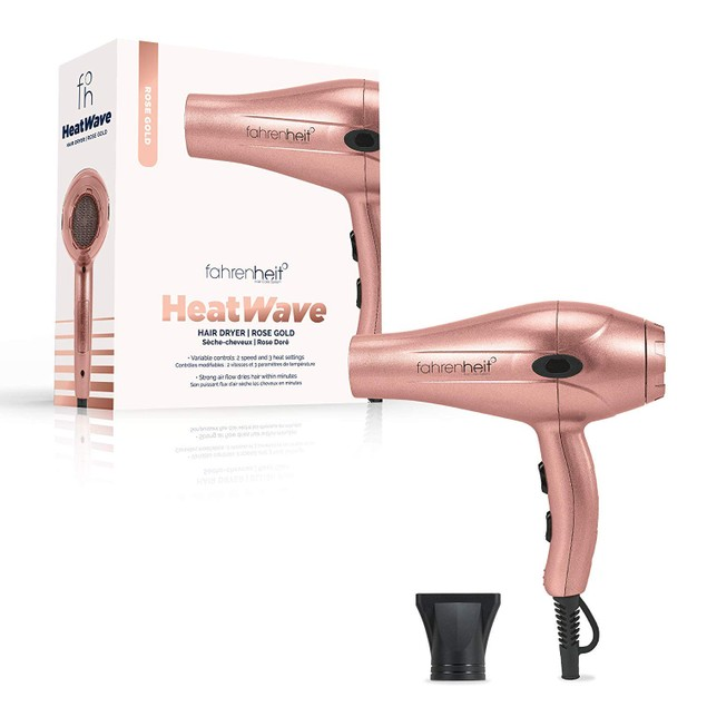 Fahrenheit Heat Wave Collection Ultra Light Professional Hair Dryer