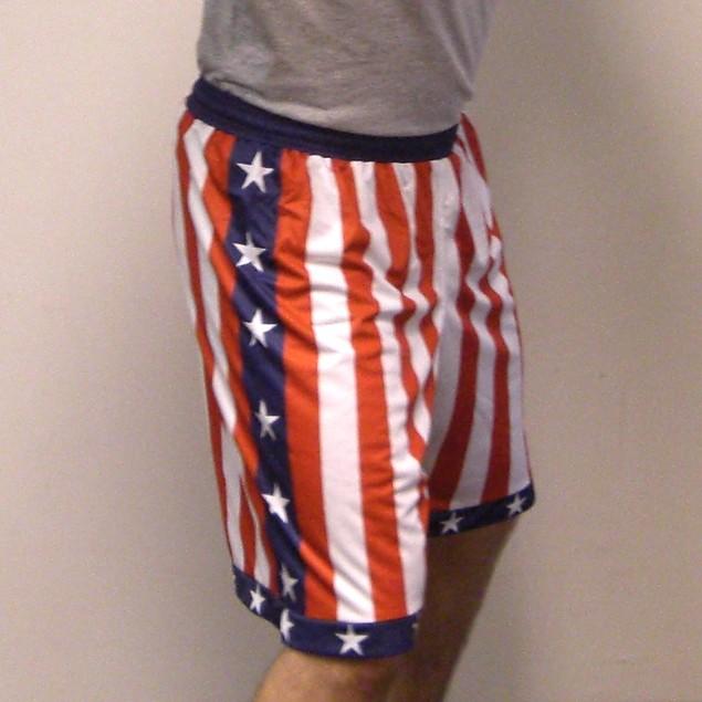 Rocky Balboa / Creed American Flag Shorts