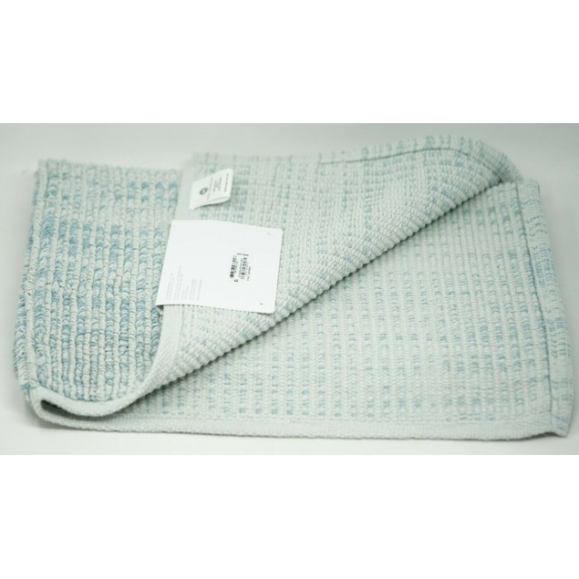 "Hotel Collection Fashion Textured Flat-Weave 22"" x 36"" Cotton Bath Rug,"