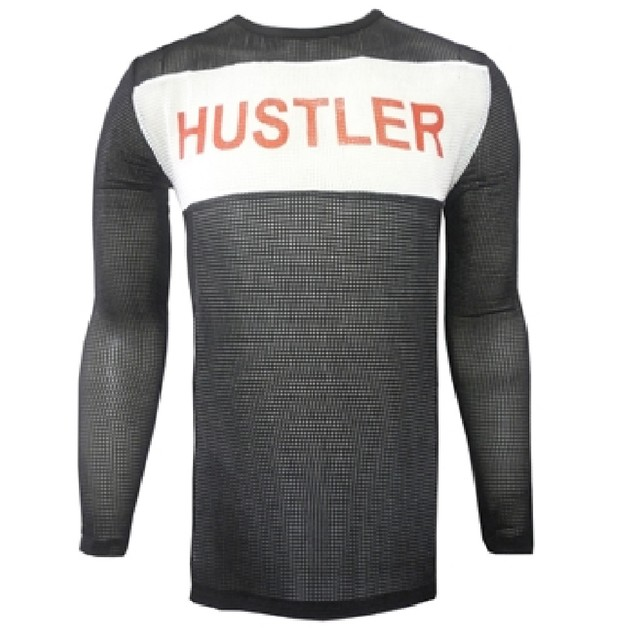 Tyler Durden Hustler Black Long Sleeve Shirt