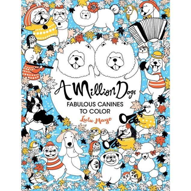 Million Dogs Book, Assorted Dogs by Sterling Publishing