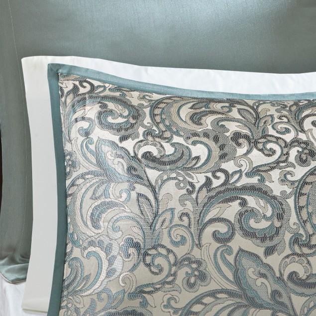 Madison Park Essentials Eleni 24 Pc Room in a Bag Bedding Set, Size: King,