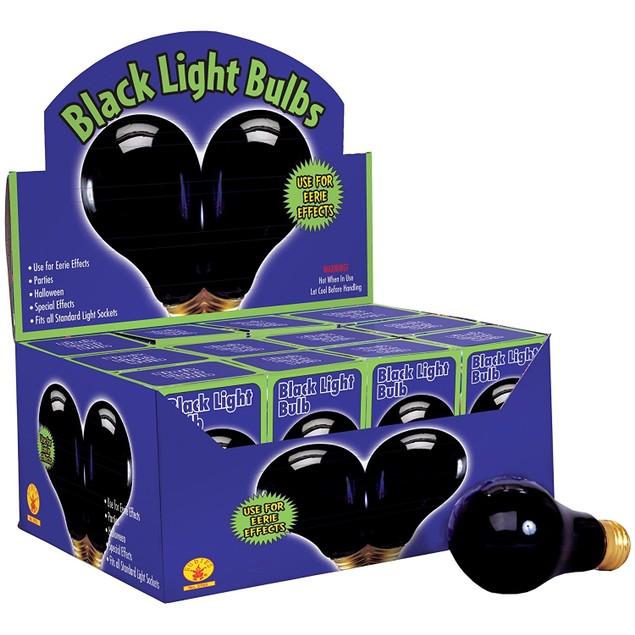 Black Light Bulb - 75 Watts