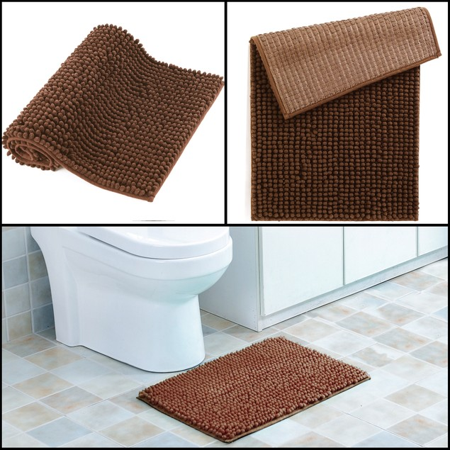 "17"" x 24"" Ultra-Soft Anti Slip Bubbles Bath Mat"