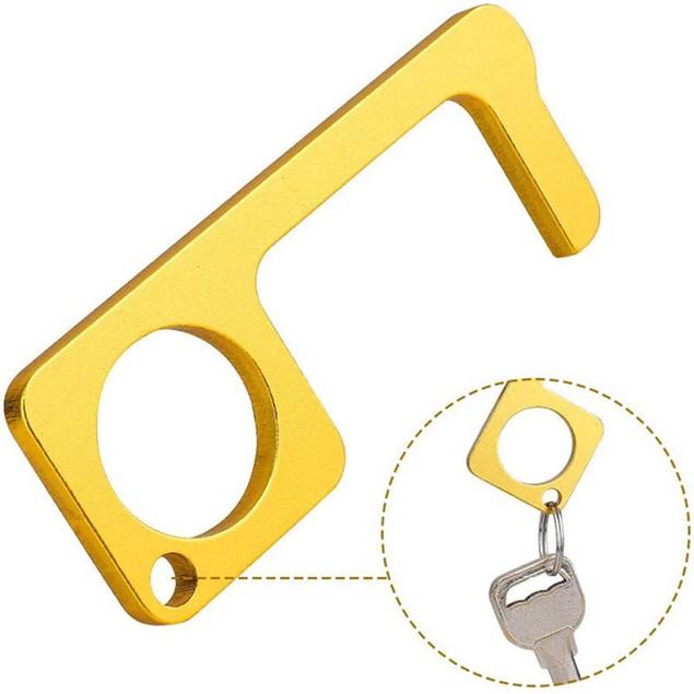 4-Pack Germ Free Key (2 Gold+ 2 Silver Key)