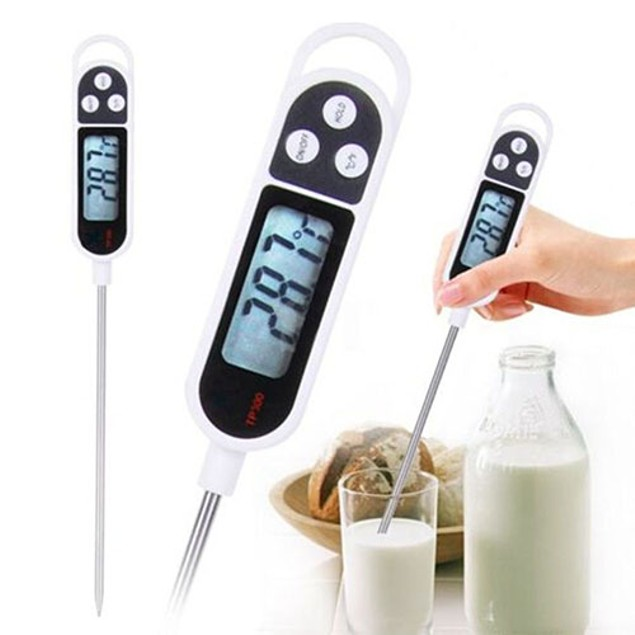 Digital Food Thermometer BBQ Cooking Meat Kitchen Tool