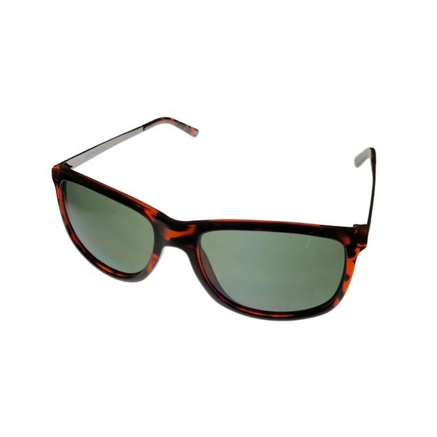 Skechers Mens Sunglass Dark Havana Rectangle Plastic, SE8050. 52N