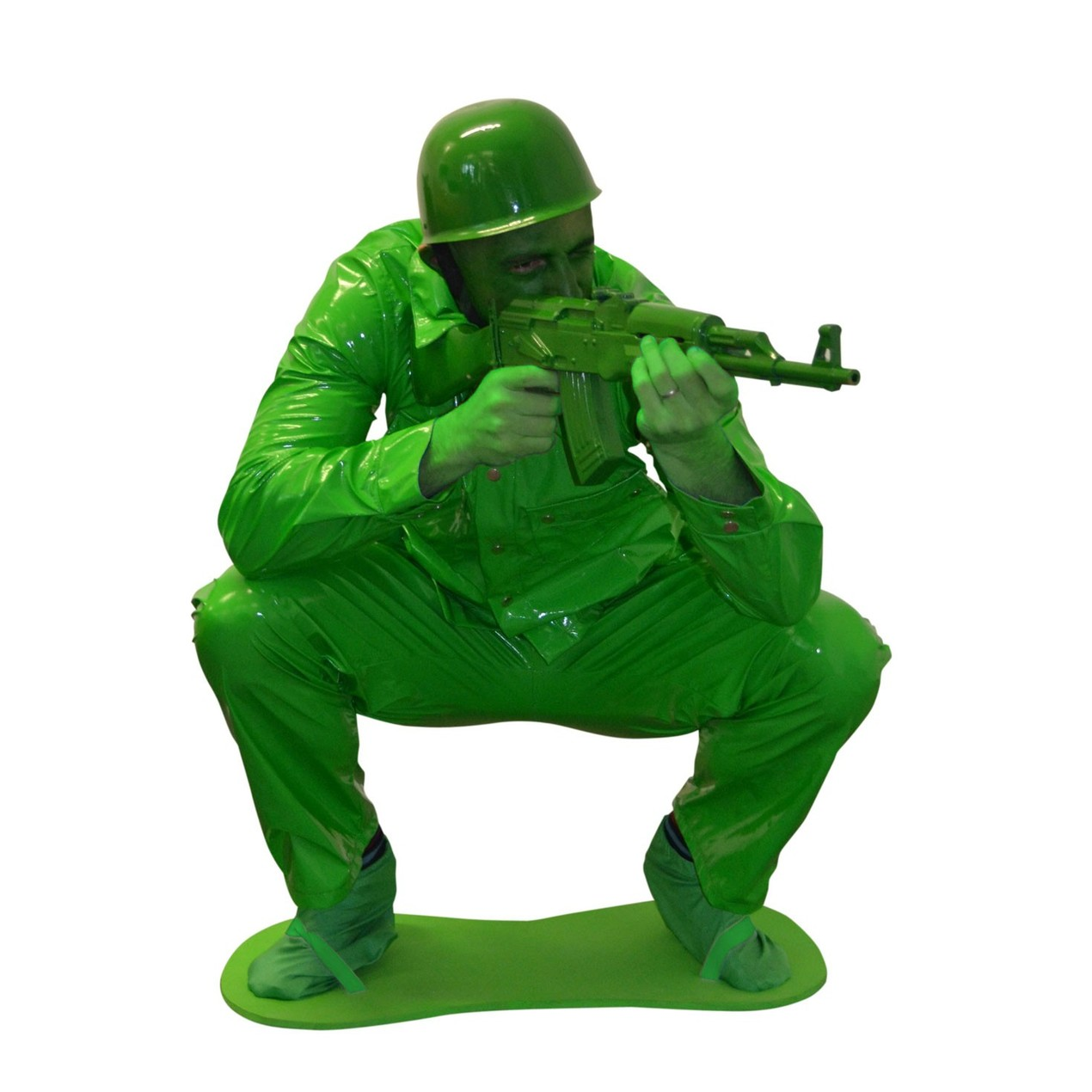 8a6195fa64e Toy Soldier Adult Costume Army Man Men Green Toy Story 2 3 Military ...