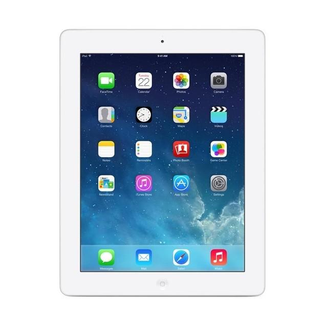 "Apple 4th Generation 32GB iPad with 9.7"" Retina Display, White (Refurbishe"