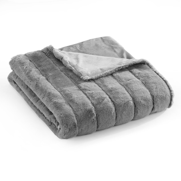 Chic Home Assunta New Faux Fur Collection Throw Blanket
