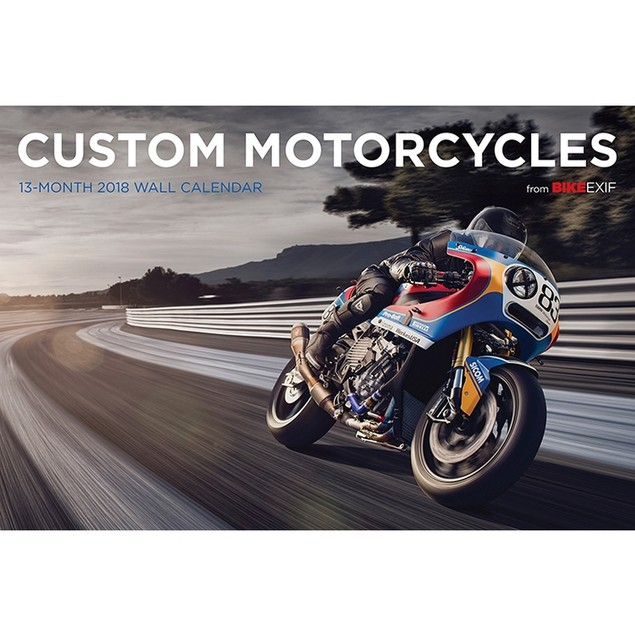 Motorcycle Bike EXIF Wall Calendar, Motorcycles by Calendars