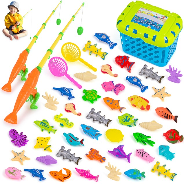 Magnetic Fishing Game 47 Pieces