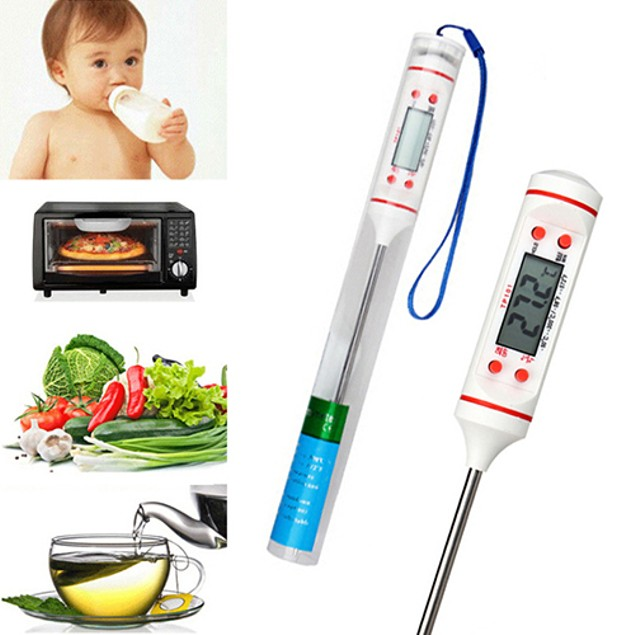 Meat Thermometer Kitchen Digital Cooking Detector Tool