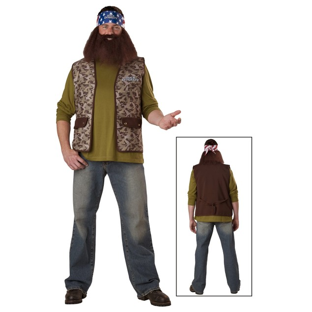 Willie Duck Dynasty Adult Costume Mens Camo Camouflage Cosplay Gift