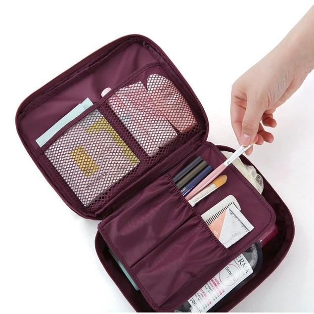 1pc Travel Cosmetic Makeup Toiletry Organizer Storage Bag Pouch Handbag