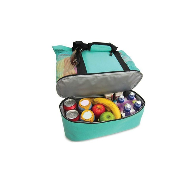 Insulated Cooler Beach Bag   Assorted Colors