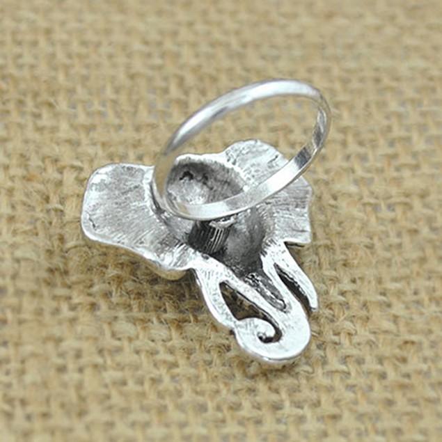 Bohemia Elephant Turquoise Above Knuckle Ring