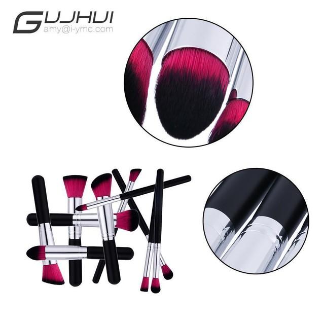 10PCS Make Up Foundation  Blush Cosmetic Concealer Brushes 105