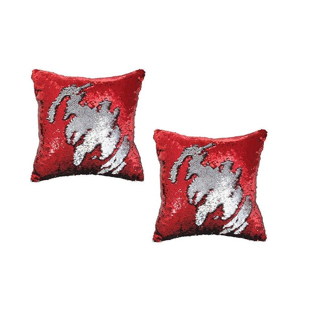 STAEMENT PIECE Mermaid Pillow Reversible Sequin Pillow That Changes Color